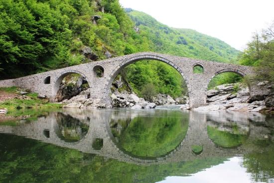 Дяволски мост на река Арда